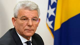 Šefik Džaferović, one of Bosnia's three presidents. He said the document showed 'secessionist powers are eager for signals from the EU to launch a bloodbath'
