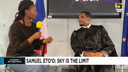Eto'o: Africa must believe and create means to win the World Cup