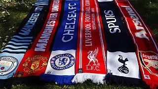 Fanschals englischer Topvereine