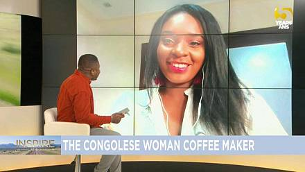 The Congolese coffee producer