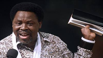 """""""Help me pray for YouTube,"""" TB Joshua responds after anti-gay remarks"""
