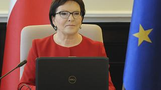 Ewa Kopacz briefly served as Poland's Prime Minister between 2014 and 2015.