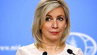 Η εκπρόσωπος τύπου του ρωσικού ΥΠΕΞ, Μαρία Ζαχάροβα