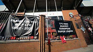 O Liverpool é um dos 12 fundadores, mas os adeptos não estão contentes
