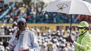 Chad's Idriss Deby re-elected amid rebel offensive