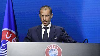 Президент УЕФА Александр Чеферин.