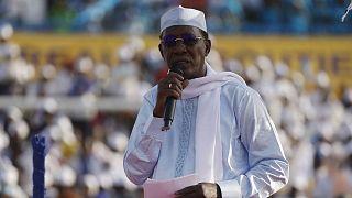 Le président du Tchad, Idriss Déby Itno, le 9 avril 2021