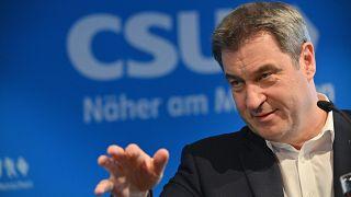 Marcus Söder is a CDU vezetőjét támogatja a kancellárjelöltségben