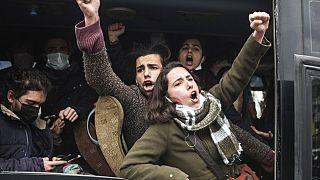 Boğaziçi Üniversitesi protestoları: 97 kişi hakkında 6 aydan 3 yıla kadar hapis cezası istendi