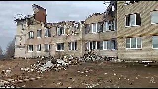 Жилой дом в селе Маргуша Нижегородской обл. после взрыва
