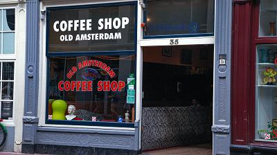Amsterdam is the cannabis capital of Europe