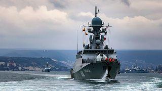 ناوهای روسی در دریای سیاه
