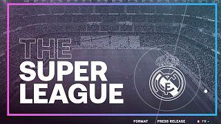 """Capture d'écran du site web de la """"Super League"""""""