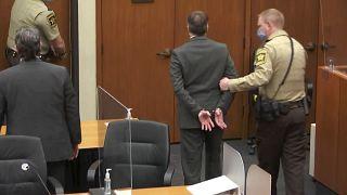 Дерек Шовин в суде