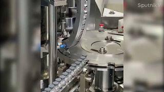 Fabricación de la vacuna rusa Sputnik V