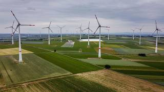 Des éoliennes en Allemagne, le 9 juin 2020