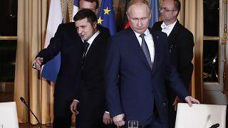 Zelenszkij meghívta Putyint a Donyec-medencébe