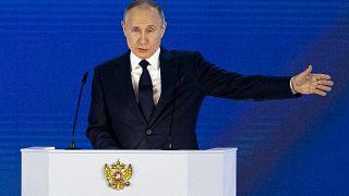 Vladimir Poutine a prononcé mercredi devant les parlementaires russes son discours annuel sur l'état de la Nation