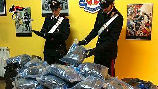 Ιταλία: Εξαρθρώθηκε δίκτυο διακίνησης ναρκωτικών