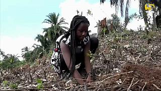 16-year old climate activist on mission to replant trees in Uganda