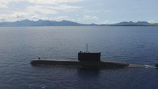 غواصة عسكرية تابعة للبحرية الإندونيسية