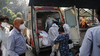 شیوع گسترده کرونا در هند