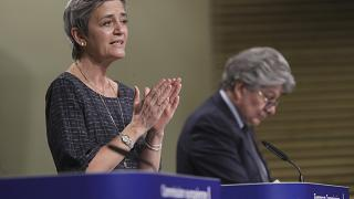 Vice-President Vestager explained the new pyramid for the AI rules.
