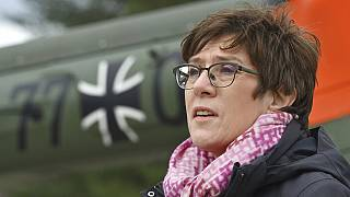 German defence minister Annegret Kramp-Karrenbauer has said she wants to help bring potentially endangered Afghan employees of her country's military to Germany