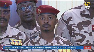 Captura de imagen del hijo del expresidente Idriss Déby, Mahatman Idriss Déby