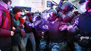 Διαδήλωση στη Μόσχα