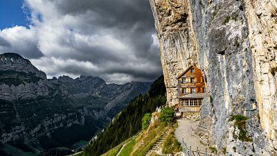 Äscher mountain restaurant, Switzerland