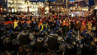 تجمع اعتراضی در شهرهای روسیه در حمایت از ناوالنی