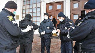 Ukraynalı polisler