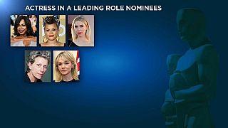 Grandes nombres y grandes debutantes en los nominados a mejor actriz y mejor actor en los Óscar