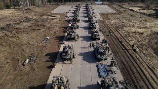 فيديو: آخر محطة من التدريبات الضخمة للجيش الروسي قرب الحدود الأوكرانية