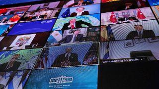 نشست مجازی رهبران کشورها