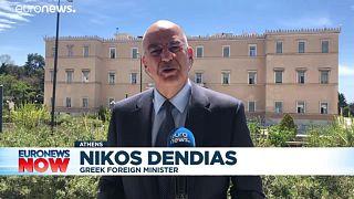 Greece's foreign minister Nikos Dendias on Euronews
