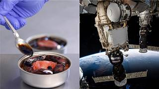 Star chefs are sending high class French food up to the ISS