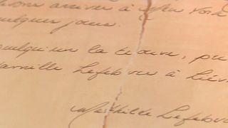 Mathildes Brief