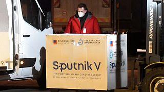 Slovakya'ya yapılan Sputnik V aşı teslimatı