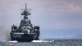 Orosz hadihajó április közepén hadgyakorlaton vesz részt a Fekete-tengeren