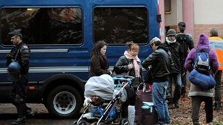 بازداشت مهاجران غیرقانونی در فرانسه