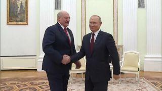 Rencontre Poutine-Loukachenko à Moscou : le conflit ukrainien au menu des discussions
