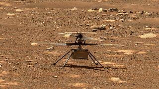 Ingenuity Mars'ta ikinci uçuşunu gerçekleştirdi.
