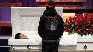 Centenas de pessoas participaram nas cerimónias fúnebres de Daunte Wright