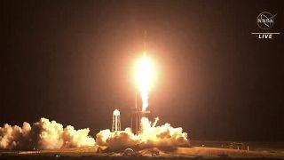 Crew Dragon-2 успешно стартовал c космодрома на мысе Канаверал во Флориде - NASA
