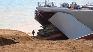 Военные учения в Крыму