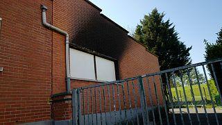 حريق مدرسة ابتدائية في مدينة ليل الفرنسية