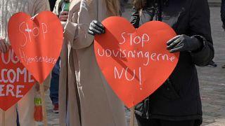 Demonstration in Dänemark