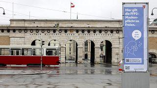 Heldenplatz in Wien, Österreich